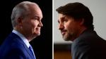 O'Toole, Trudeau spar over COVID-19 response