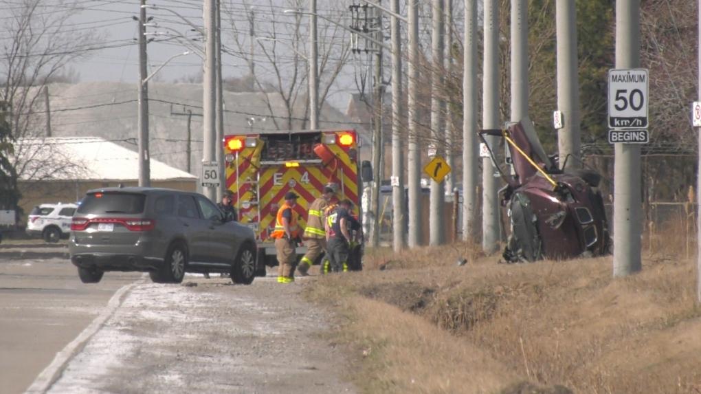 Ojibway crash