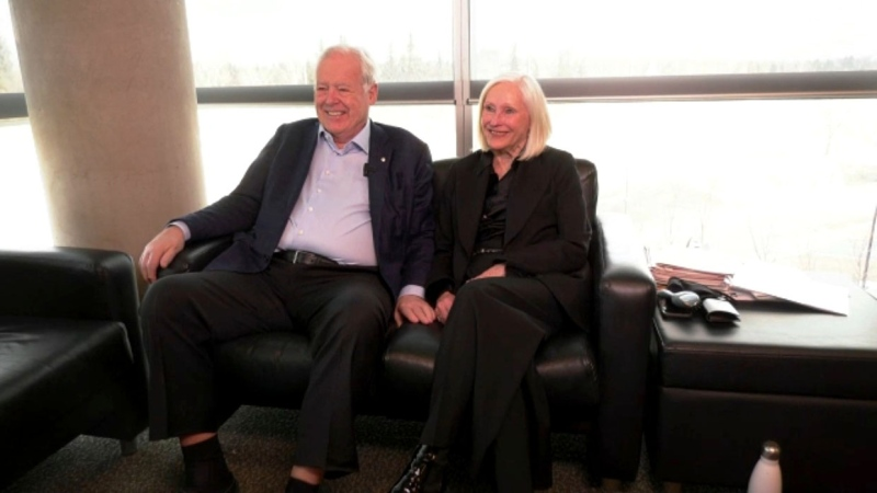 They're philanthropic superstars for the University of Calgary and they're this week's Inspired Albertans. Darrel Janz reports.