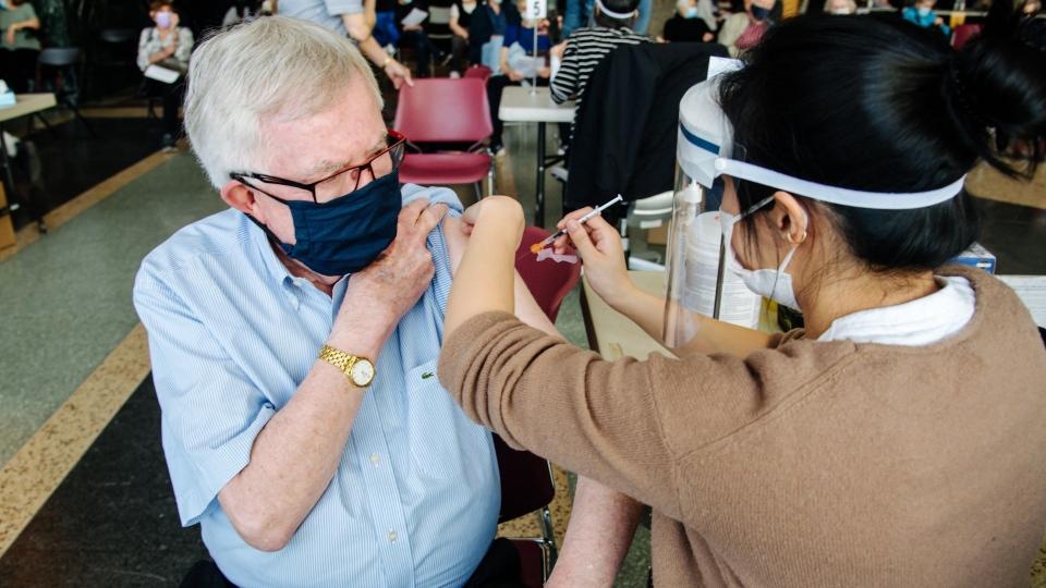 Joe Clark vaccine