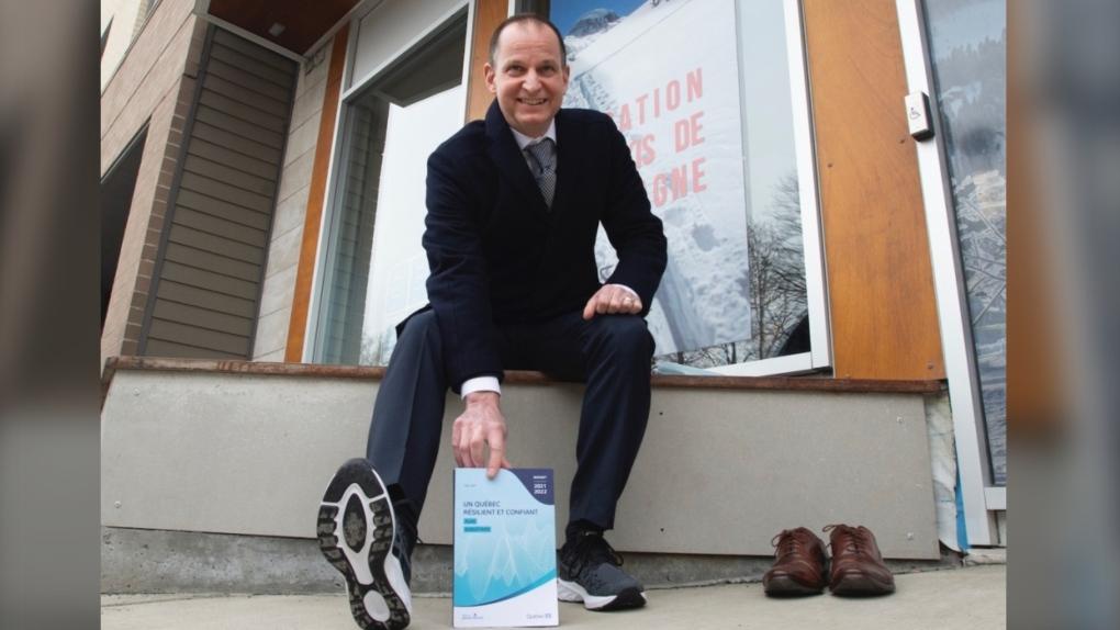 Quebec Finance Minister Eric Girard 2021