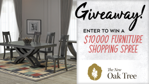 The New Oak Tree 10k Furniture Shopping Spree