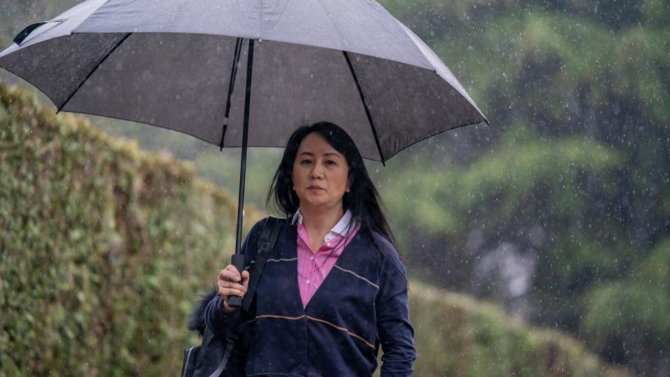 Meng Wanzhou heading to court