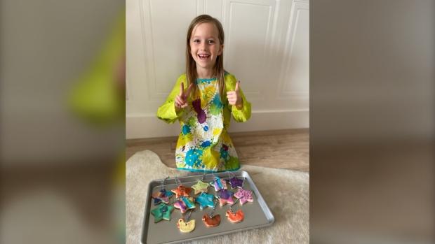 Swift Current girl raises $2K for children's hospital