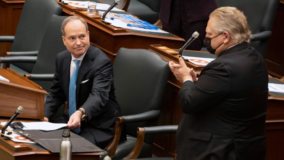 Ontario budget, Bethlenfalvy
