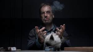Bob Odenkirk in a scene from 'Nobody.' (Allen Fraser / Universal Pictures via AP)