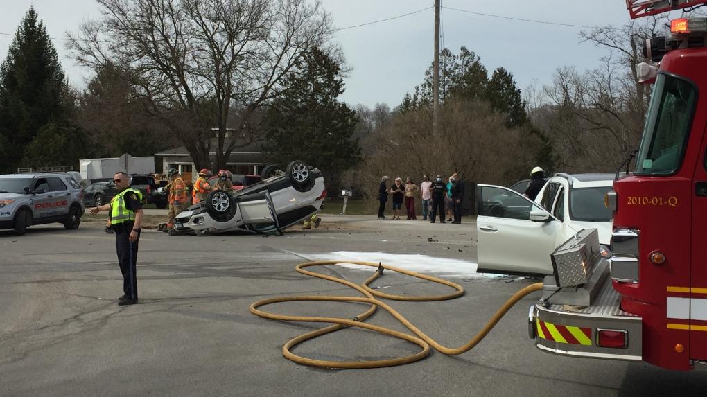 Oxford and Woodhull crash