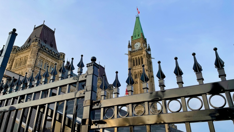 FILE - Parliament Hill is seen in this photo taken on March 24, 2021. (Photo by CTV News' Jeff Denesyk)