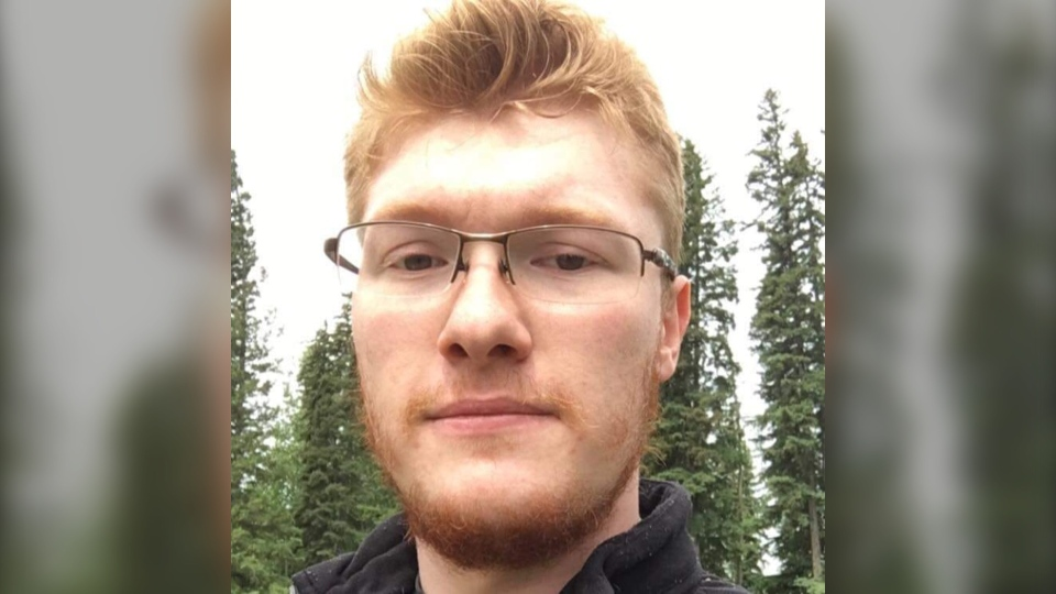 Ross Arran McInnes, 27, has been charged with first-degree murder in connection with the March 22 death of a woman at an apartment building in Bowden, Alta. (Facebook)