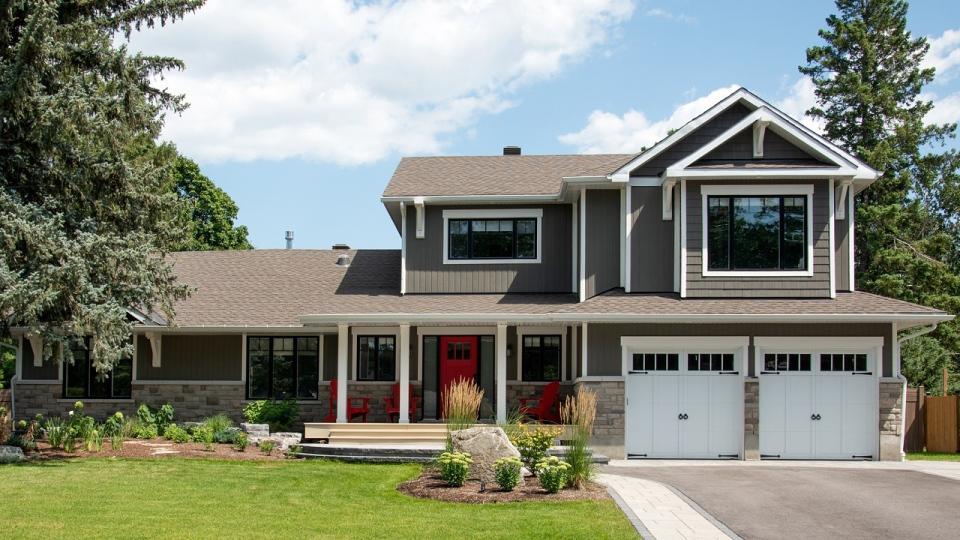 West-end Ottawa dream home reno - Front