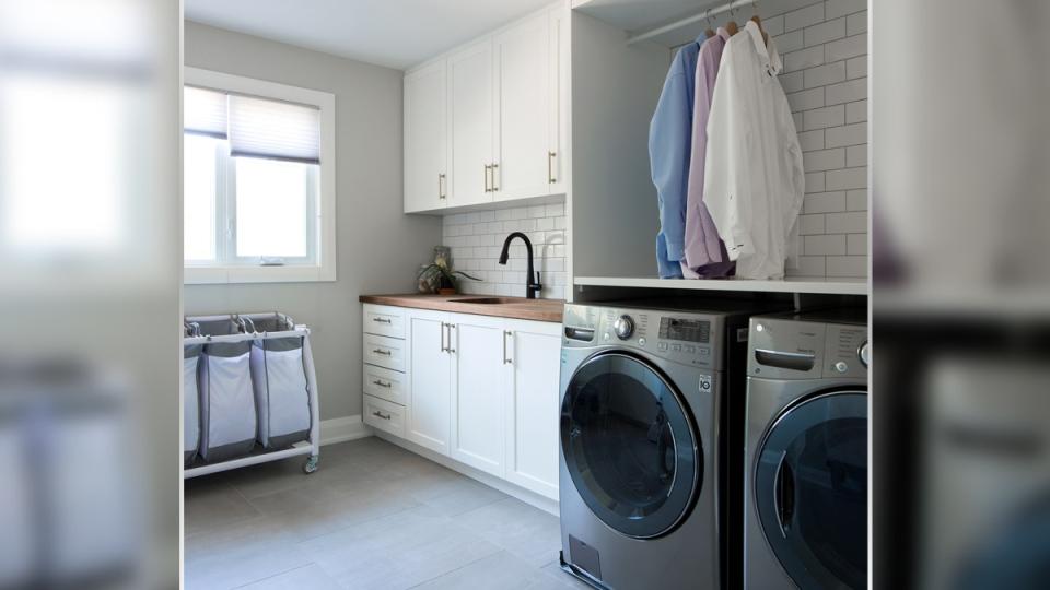 West-end Ottawa dream home reno - Laundry Room
