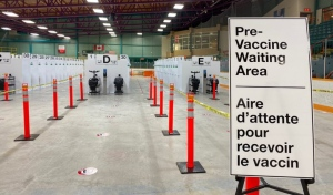 The good news is Ontario is accelerating the timeline for residents to get their second shot of COVID-19. But that also means if you already booked your appointment, you have to reschedule it for the earlier date. (File)
