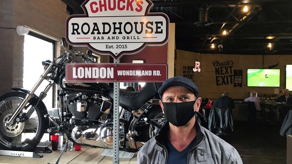 Tom Sada of Chuck's Roadhouse