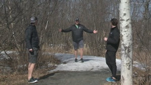 Will and Josh explore some Sudbury trails