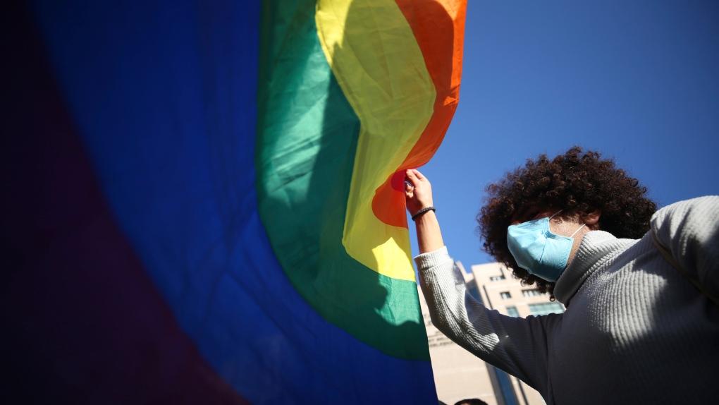 Turkey LGBT protest - 2021