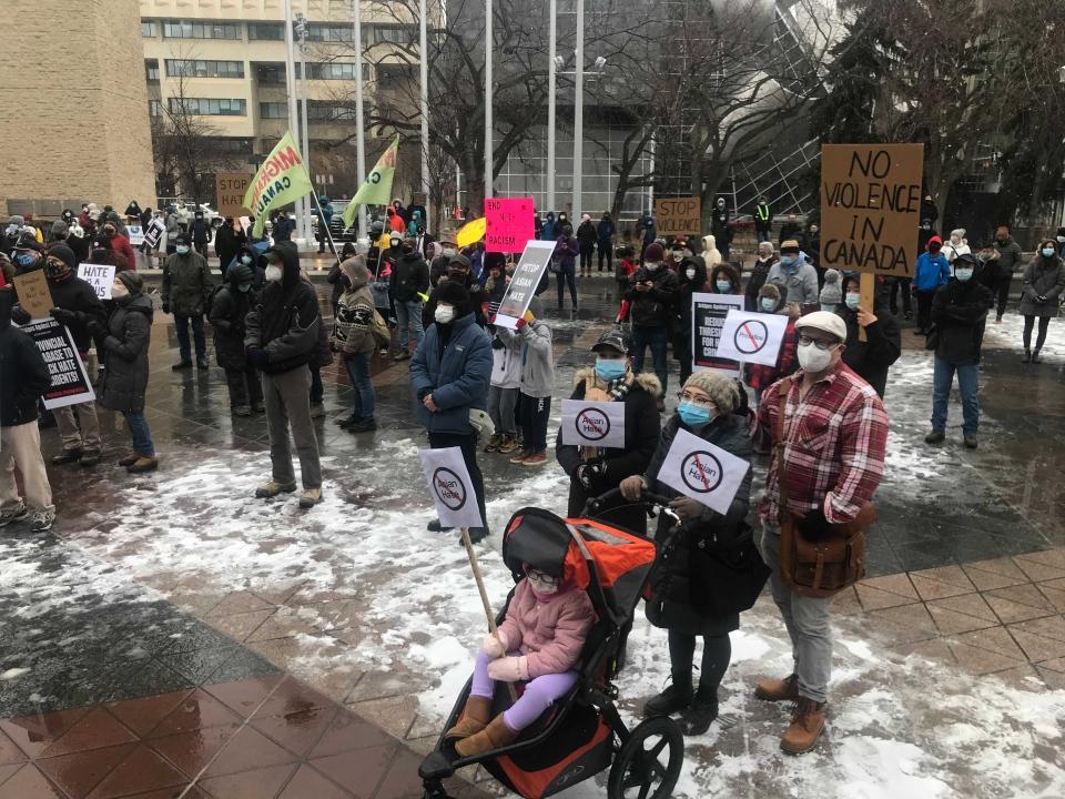 Building Bridges Against Hate walk in Edmonton