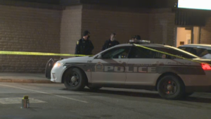 The WPS is investigating a shooting in the area of Arlington St. and Logan Ave. on Saturday, March 27, 2021. (Gary Robson/CTV News)