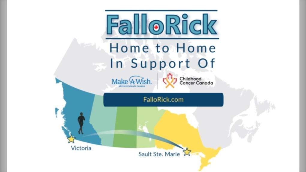 'Home-to-Home' adventure Rick Fall