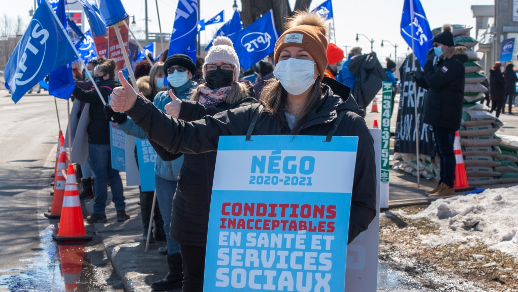 Union protests could be a common sight in Quebec