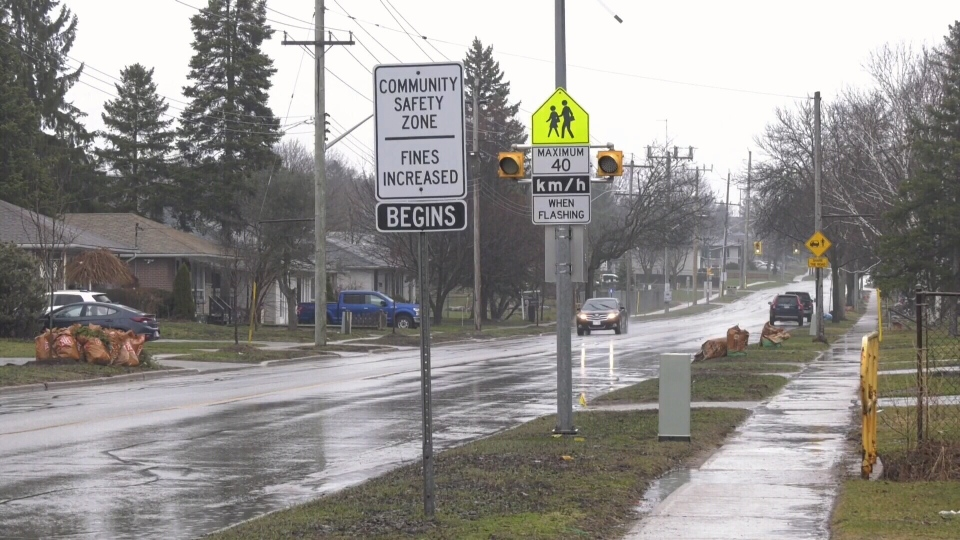 Slower speed limits for Barrie?