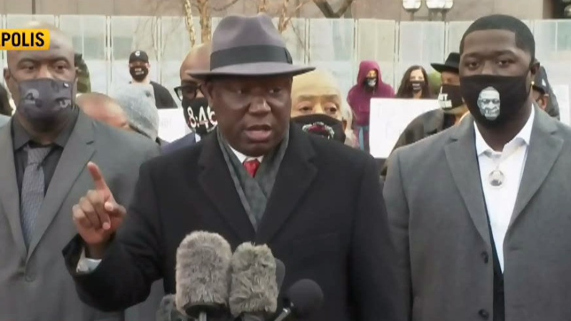 Floyd family lawyer Benjamin Crump