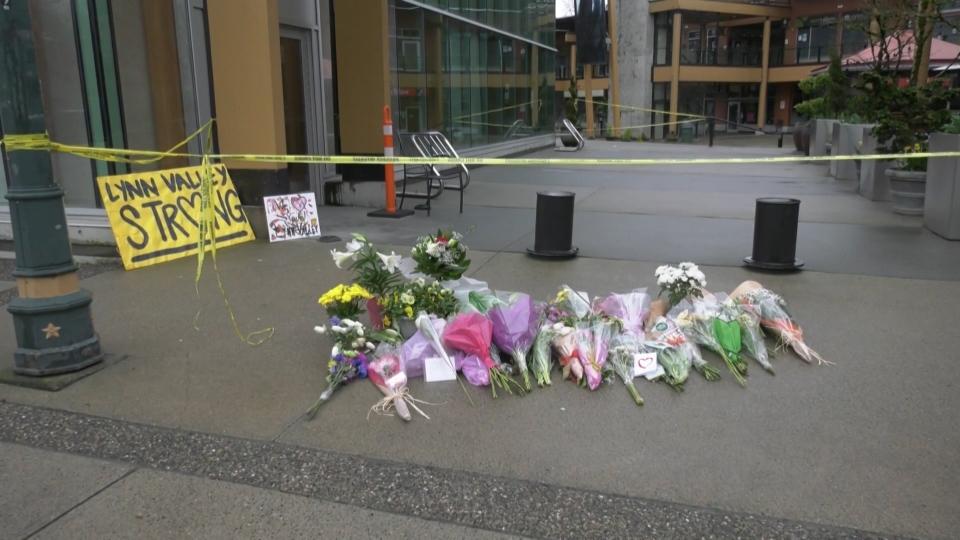 Lynn Valley stabbing memorial