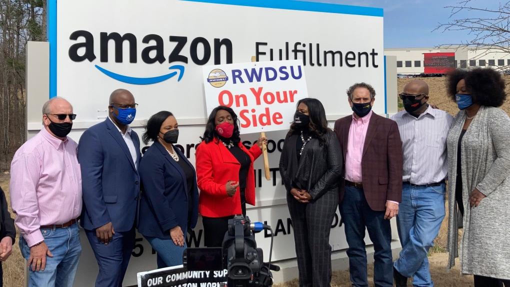 Amazon union vote