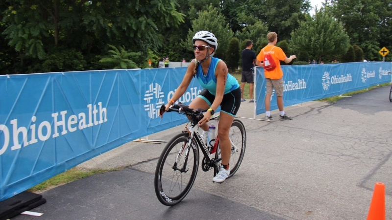 Woodstock Ont. cyclist Farah Foster-Manning (Submitted photo)