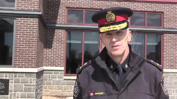 Chief Chris Herridge, St. Thomas Police Service