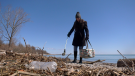 A new documentary sheds light on plastic pollution in Lake Ontario.