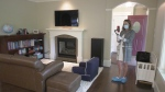 Real estate agent Sheila O'Brien conducting a virtual open house - June 2020.