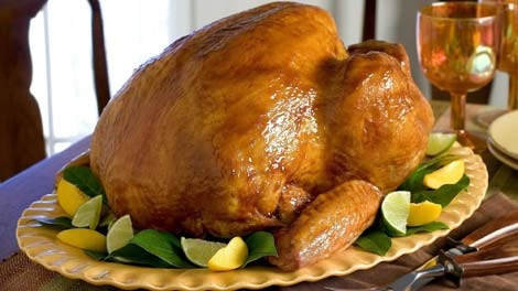 A glazed turkey is displayed in this file photo. (AP / Butterball)