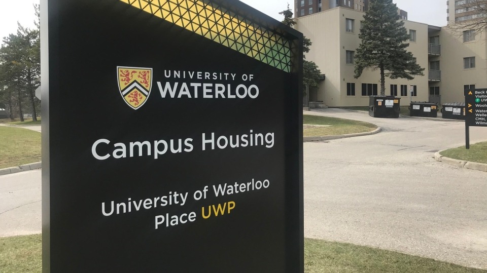 Student housing at the University of Waterloo