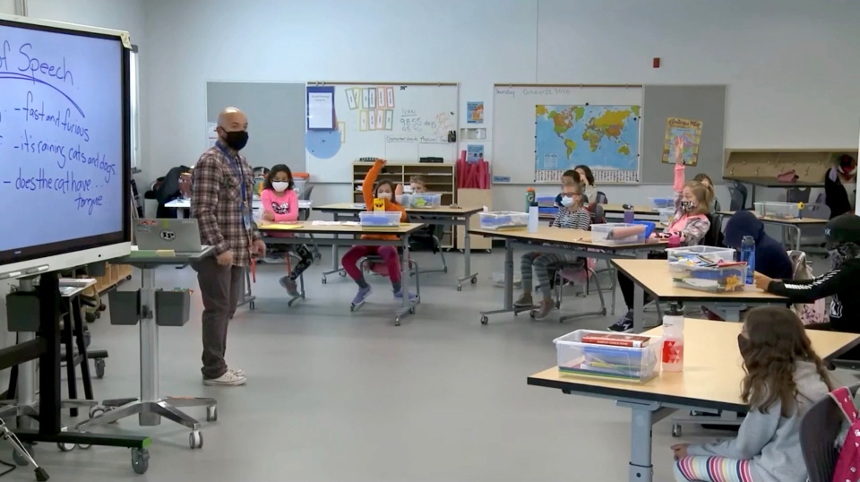 Alberta classroom