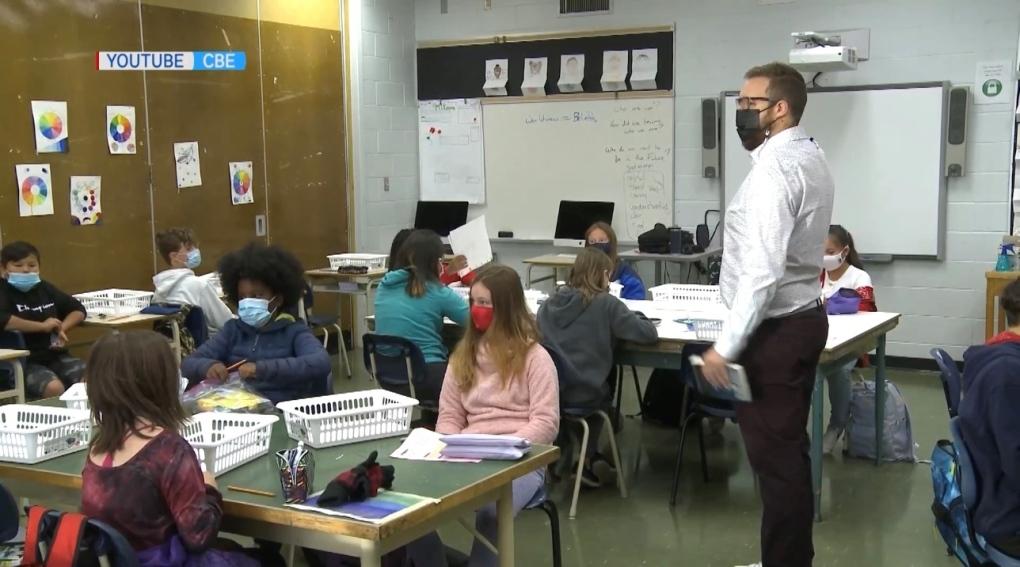Alberta Calgary classroom