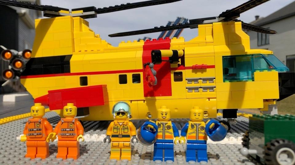 Custom Lego Heli