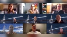 Windsor-Detroit Bridge Authority and Bridging North America hosted an online community meeting Wednesday, March 31 (Alana Hadadean / CTV News)