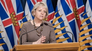 Provincial health officer Dr. Bonnie Henry provides an update on COVID-19 on March 22, 2021: (Province of B.C. / Flickr)