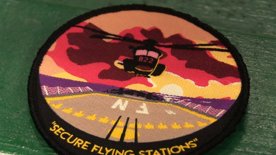 Memorial patch honours helicopter crew