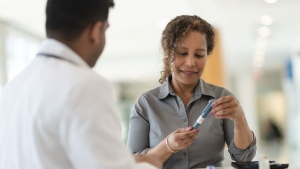 From learning how to measure your blood-glucose levels to administering your own insulin, your local pharmacist can teach you useful techniques, introduce you to new technology and more. (iStock)