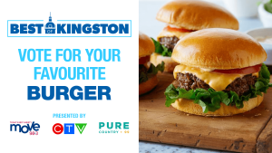 It's time to vote for the BEST Burger in Kingston!