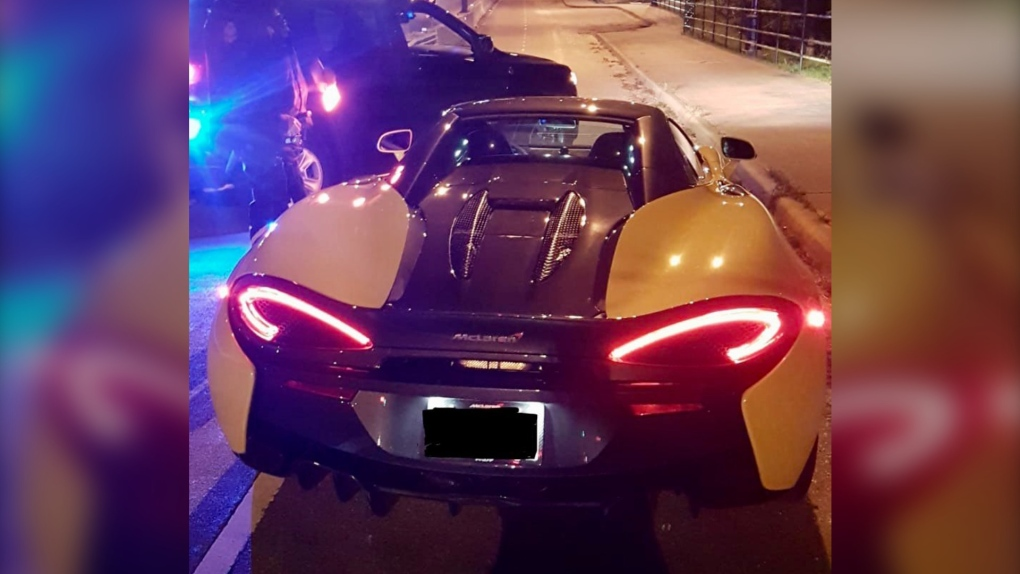 Impounded McLaren