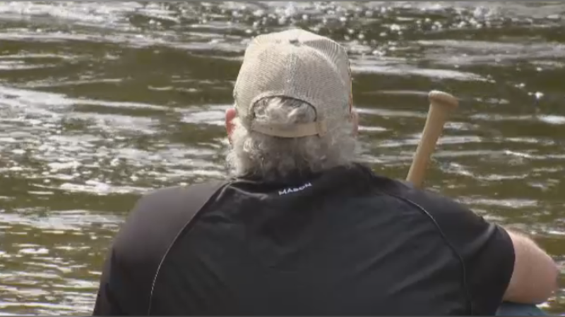 Kent Mason says he couldn't even think about waterfalls at first -- but now, they're an important part of his healing process. (Photo: Cory McGraw/CTV News)