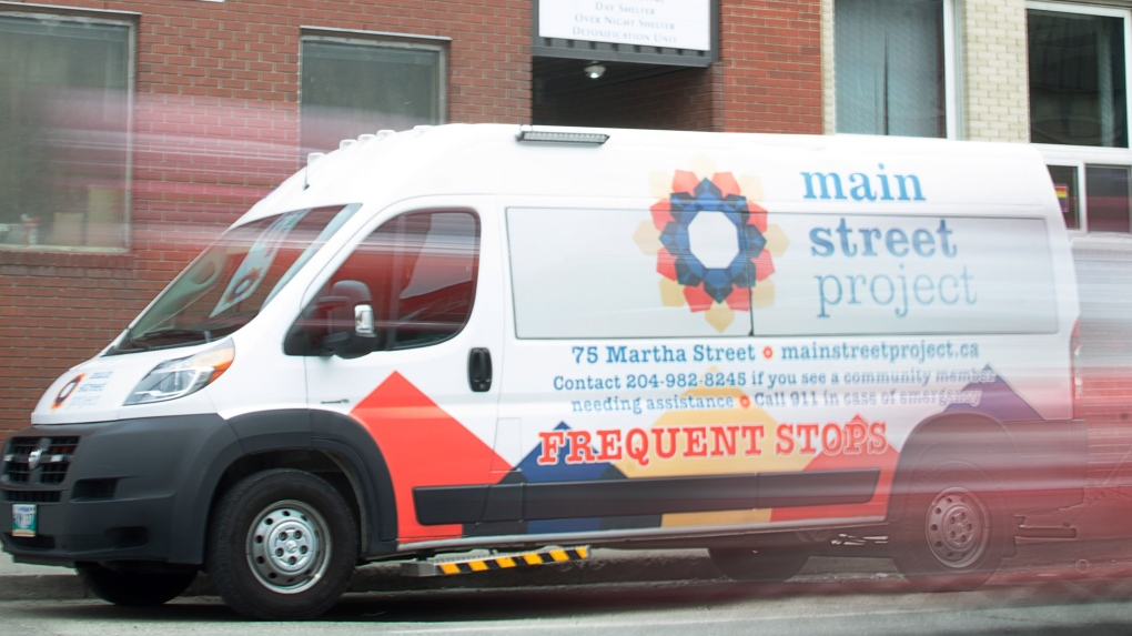 Main Street Project Van Patrol Outreach Program