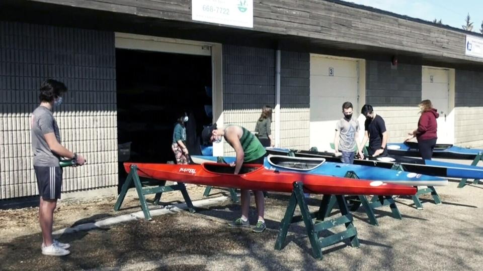 Saskatoon rowers preparing for upcoming season
