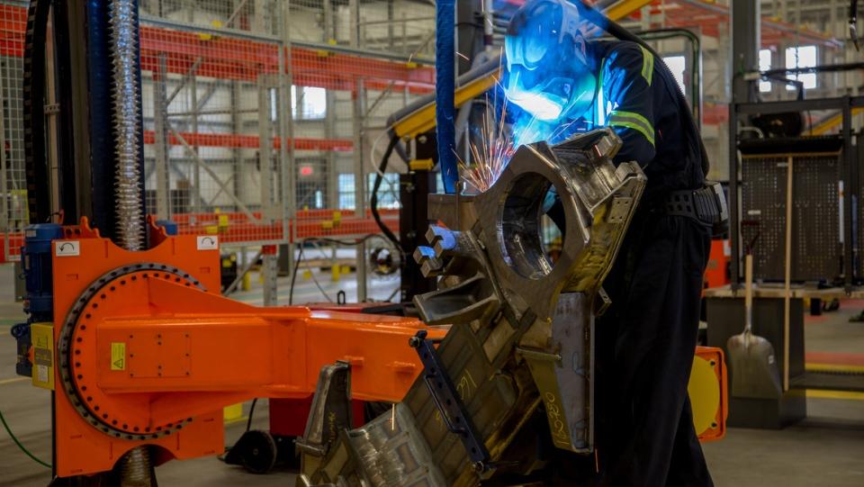 Bombardier-Alstom plant in Quebec