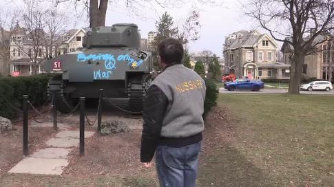 Memorial tank