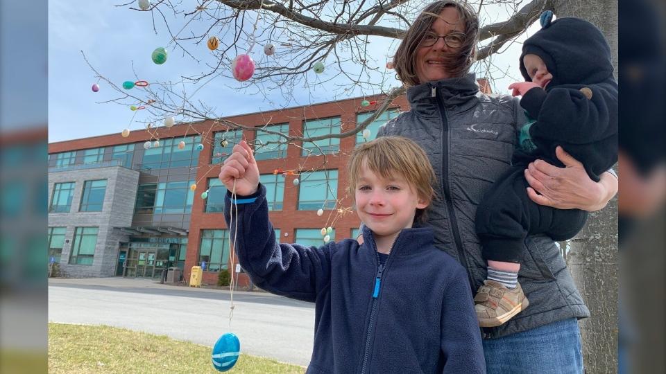 Thorben and Lisa eggs