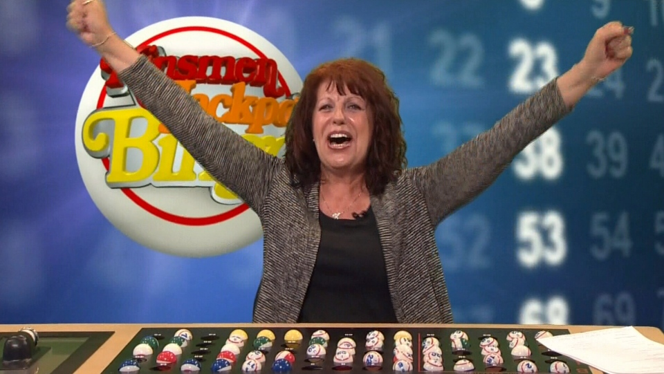 On Saturday evening, Kinsmen Jackpot Bingo called the winning numbers for its record-breaking $3 million pot. (Source: CTV/Kinsmen Jackpot Bingo)