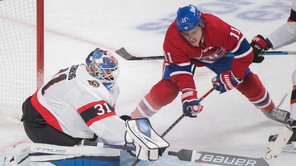 Montreal Canadiens' Brendan Gallagher